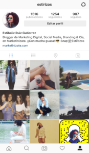 Estíbaliz Ruíz Instagram 1